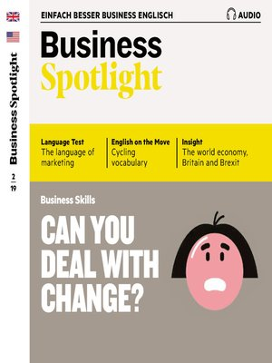 cover image of Business-Englisch lernen Audio--Can you deal with change?