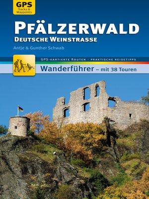 cover image of Pfälzerwald Wanderführer Michael Müller Verlag