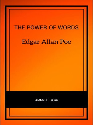 cover image of The Power of Words