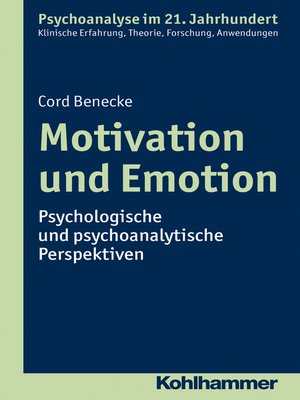 cover image of Motivation und Emotion