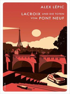 cover image of Lacroix und die Toten vom Pont Neuf