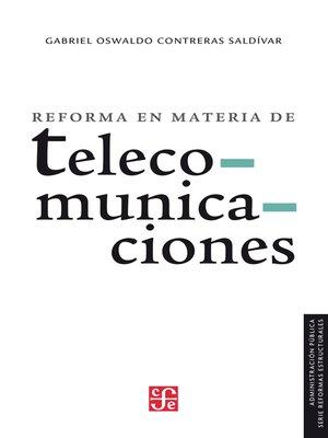 cover image of Reforma en materia de telecomunicaciones