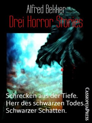 cover image of Drei Horror Stories