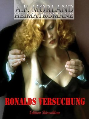 cover image of Ronalds Versuchung