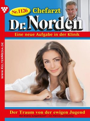 cover image of Chefarzt Dr. Norden 1126 – Arztroman