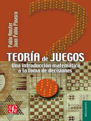 cover image of Teoría de juegos