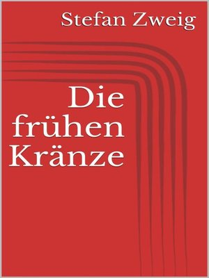 cover image of Die frühen Kränze
