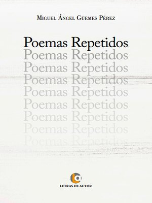 cover image of Poemas repetidos