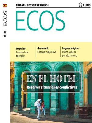 cover image of Spanisch lernen Audio--Im Hotel