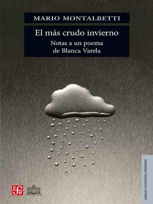 cover image of El más crudo invierno