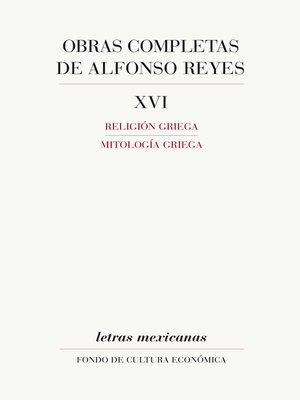 cover image of Obras completas, XVI