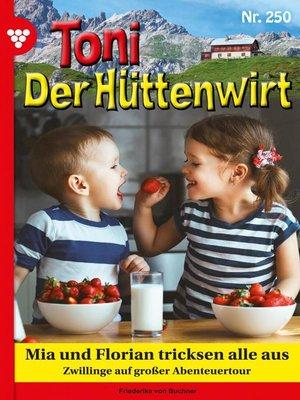 cover image of Toni der Hüttenwirt 250 – Heimatroman