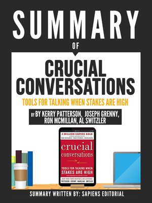 "cover image of Summary of ""Crucial Conversations"
