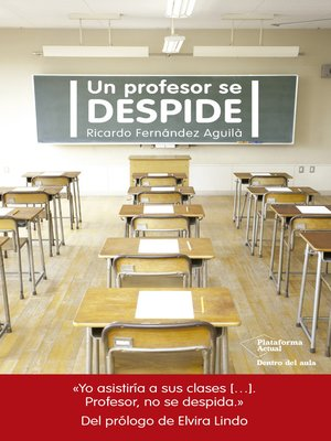 cover image of Un profesor se despide