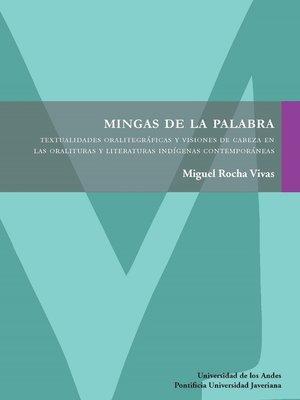 cover image of Mingas de la palabra. Segunda edición