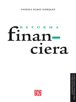 cover image of Reforma financiera