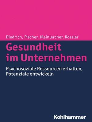 cover image of Gesundheit im Unternehmen