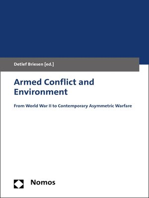 cover image of Armed Conflict and Environment