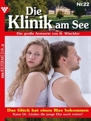 cover image of Die Klinik am See 22 – Arztroman