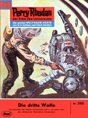 cover image of Perry Rhodan 285