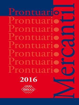cover image of Prontuario Mercantil 2016