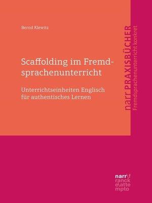 cover image of Scaffolding im Fremdsprachenunterricht