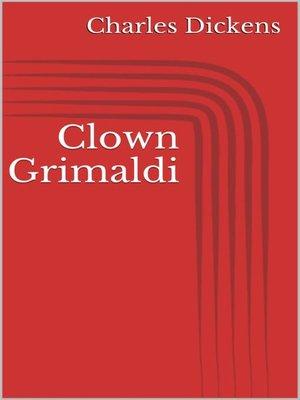 cover image of Clown Grimaldi