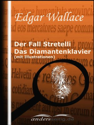 cover image of Der Fall Stretelli / Das Diamantenklavier (mit Illustrationen)