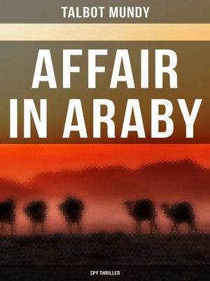 cover image of Affair in Araby (Spy Thriller)