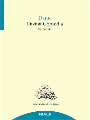 cover image of Divina comedia