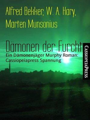cover image of Dämonen der Furcht