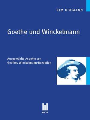 cover image of Goethe und Winckelmann