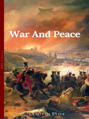 cover image of War and Peace by
