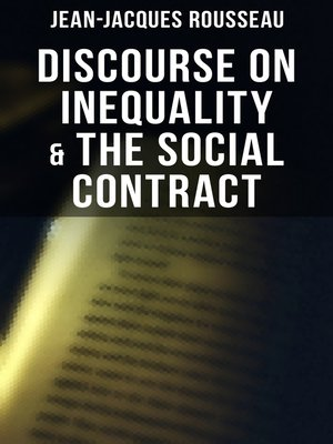 cover image of Discourse on Inequality & the Social Contract