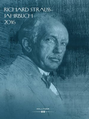 cover image of Richard Strauss-Jahrbuch 2016