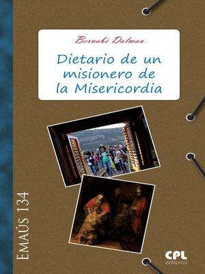 cover image of Dietario de un misionero de la Misericordia