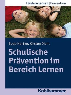 cover image of Schulische Prävention im Bereich Lernen