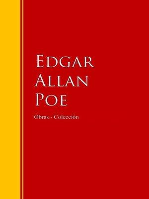 cover image of Obras--Colección de Edgar Allan Poe