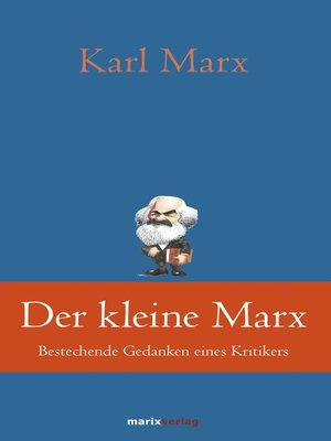 cover image of Der kleine Marx