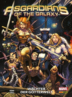 cover image of Asgardians of the Galaxy--Wächter der Götterwelt