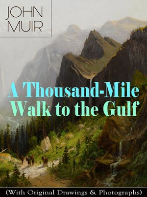 cover image of A Thousand-Mile Walk to the Gulf (With Original Drawings & Photographs)