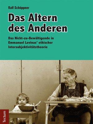 cover image of Das Altern des Anderen
