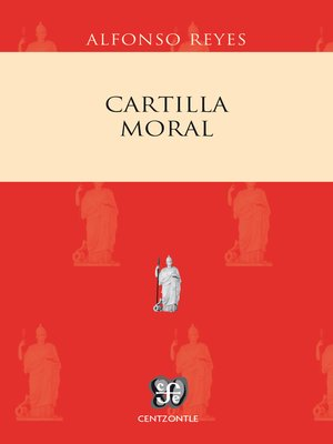 cover image of Cartilla moral