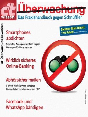 cover image of c't wissen Überwachung abwehren (2015)