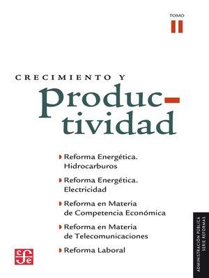 cover image of Crecimiento y productividad, II