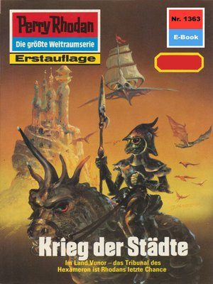 cover image of Perry Rhodan 1363