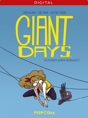 cover image of Giant Days 03