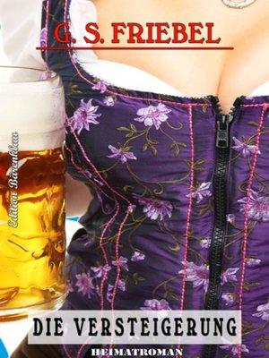 cover image of Die Versteigerung