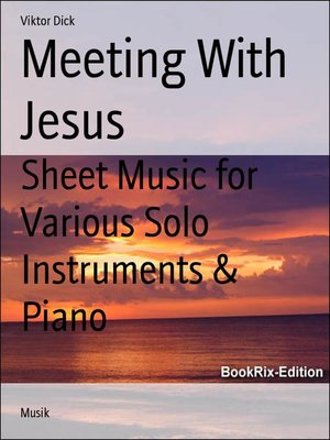 cover image of Meeting With Jesus