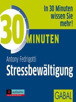 cover image of 30 Minuten Stressbewältigung